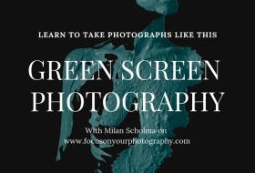 Greenscreen fotografie met Milan Scholma