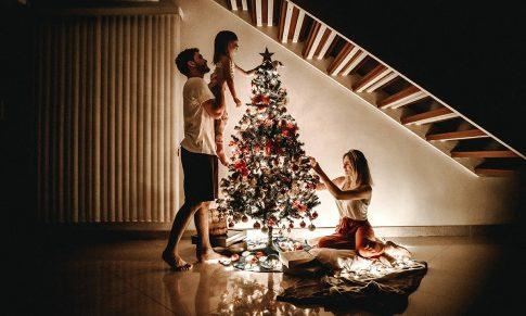 Hoe kan je de kerstboom fotograferen?